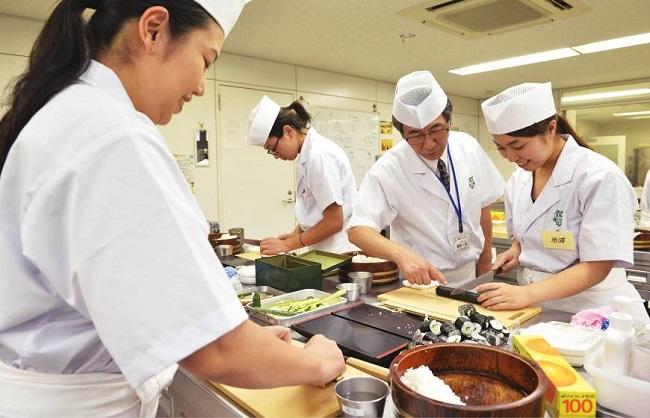 [xkldquocte] Xuẩt khẩu lao động Nhật Bản - Tuyển 09 nữ chế biến sushi - Nhật Bản 2019
