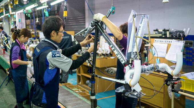 Xuất khẩu Đài Loan - Tuyển 30 nam làm việc tại nhà máy sản xuất xe đạp cự đại Giant